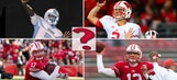 As far as quarterback battles go, Wisconsin's will be quite messy