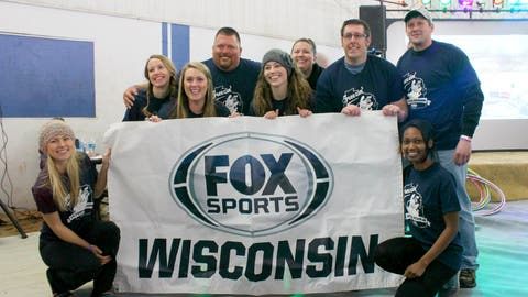 We are FOX Sports. We are Wisconsin. We are a little crazy for plunging into freezing water.