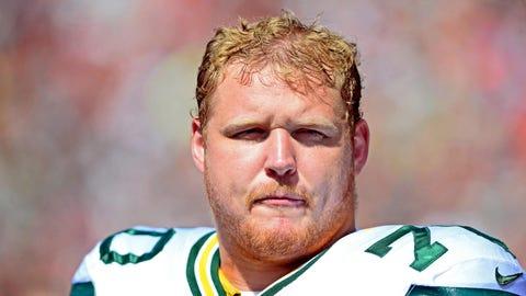 T.J. Lang, OL, Green Bay Packers