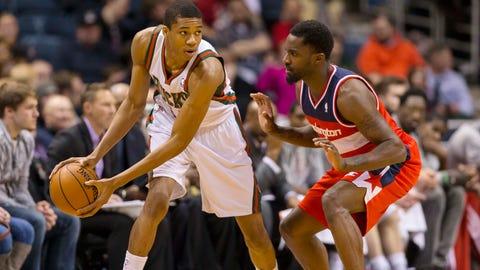 Wizards at Bucks: 3/8/14