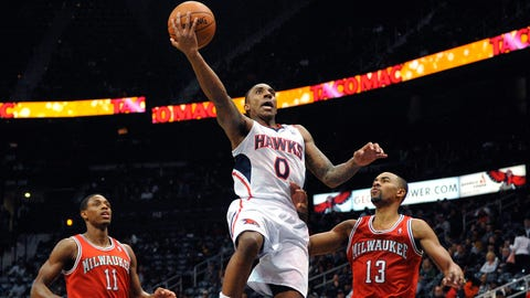 Bucks at Hawks: 3/13/14