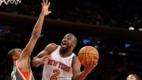 Bucks at Knicks: 3/15/14