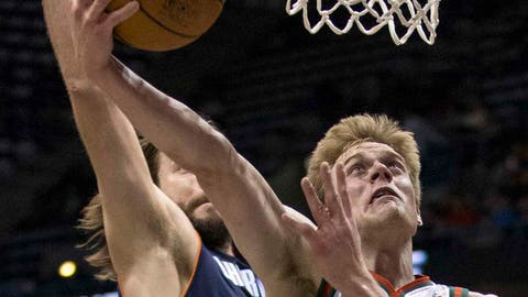 Bobcats at Bucks: 3/16/14