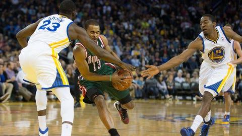 Bucks at Warriors: 3/20/14