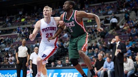 Bucks at Pistons: 3/31/14