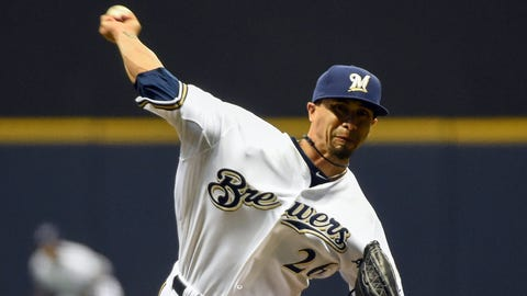 Kyle Lohse, SP, Milwaukee Brewers