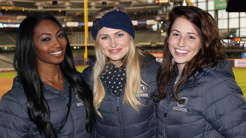 The FOX Sports Wisconsin Girls are happy to be back at Miller Park for the 2014 season!