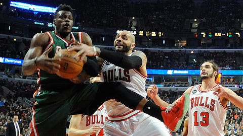 Jeff Adrien. Stats: 10.9 PPG, 7.8 RPG, 1.1 APG, 51.5 FG%, 67.0 FT% in 28 games with the Bucks