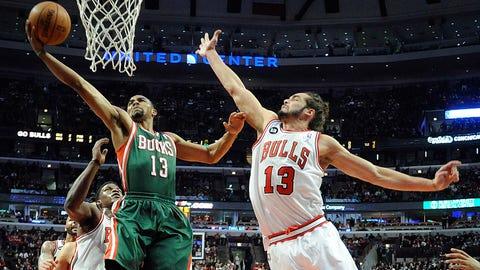 Bucks at Bulls: 4/4/14