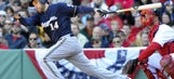 Brewers' Bianchi outrighted to Triple-A