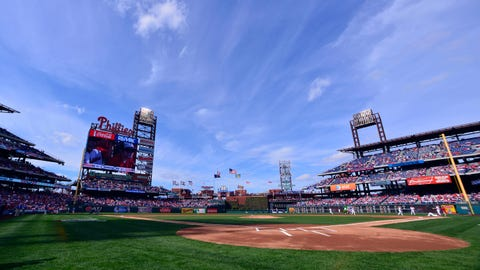 Brewers at Phillies: 4/8/14-4/10/14