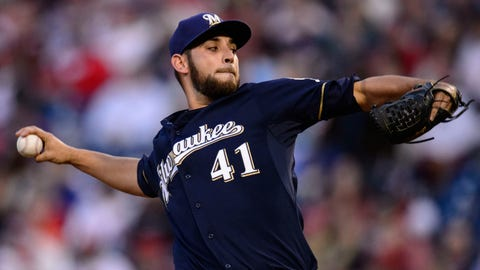 Brewers at Phillies 4/7/14-4/10/14