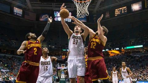 Cavaliers at Bucks: 4/11/14