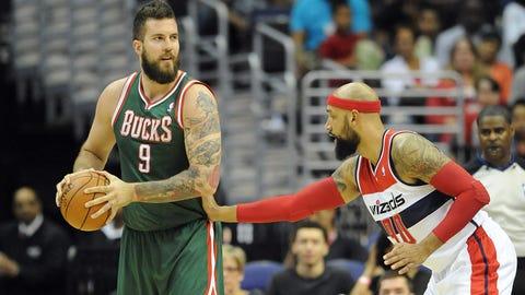 Bucks at Wizards: 4/12/14