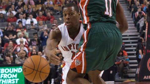 Bucks at Raptors: 4/14/14