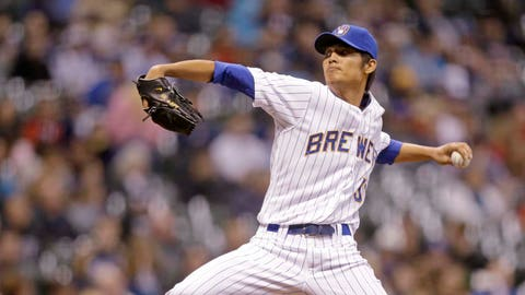 LHP Wei-Chung Wang (0-2, 2.60 ERA in five starts in rookie ball and Class-A)