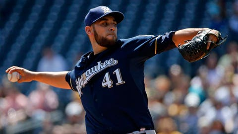 Brewers at Pirates: 4/17/14-4/20/14