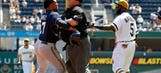 Brewers Monday: Gomez focused on moving forward after brawl