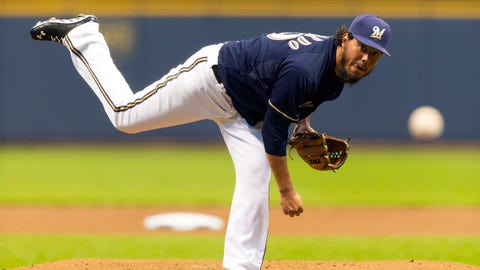 Milwaukee Brewers, 20-9, first place