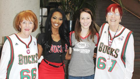 Whether young or young at heart, Bishara and Sage know that Milwaukee Bucks fans are some of the best in the NBA.