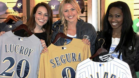 There's no better way to show your Brewers pride than with a game-worn jersey. Sage, Chyna & Bishara pick out some of their faves.