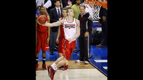 Sam Dekker, F, Wisconsin Badgers