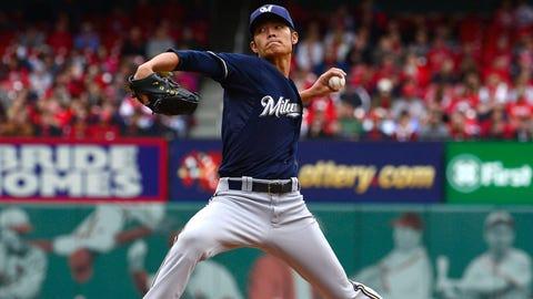 Wei-Chung Wang, P, Milwaukee Brewers