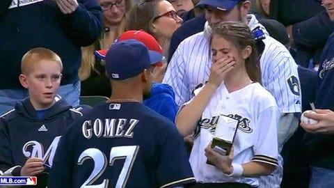 Carlos Gomez, CF, Milwaukee Brewers