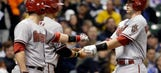 Brewers lament relinquishing late lead to D-backs