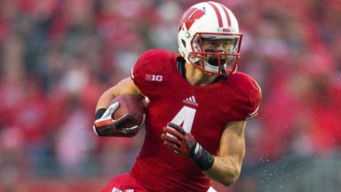 Jared Abbrederis (Round 5, No. 176 overall), WR, Wisconsin