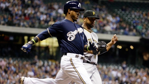 Pirates at Brewers: 5/13/14-5/15/14