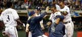 Brewers show resiliency with ninth-inning win