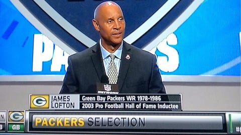 James Lofton, WR, former Green Bay Packer