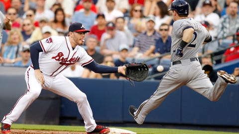 Brewers at Braves: 5/19/14-5/22/14