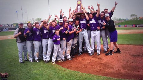 UW-Whitewater becomes the first school at any level in NCAA history to win baseball, basketball and football championships in a year