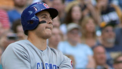 NL Final Vote winner: Anthony Rizzo, Cubs