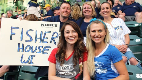 No matter your team, Fisher House Wisconsin is something everyone can cheer about. FOX Sports Supports our servicemen & women.