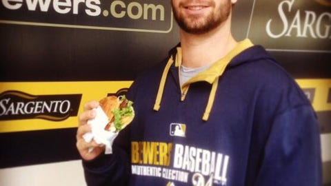 Tyler Thornburg, P, Milwaukee Brewers
