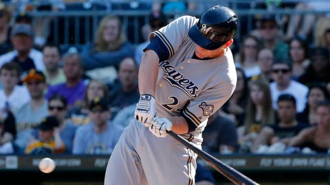 Brewers at Pirates: 6/6/14-6/8/14