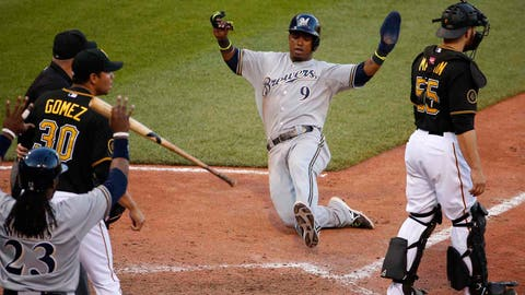 Milwaukee Brewers, 38-26, first place