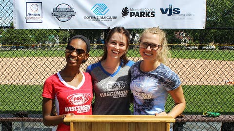 FOX Sports Supports the Boys & Girls Clubs of America. The FOX Sports Wisconsin Girls were on hand for the recent dedication of the new Sherman Park Baseball Diamond.