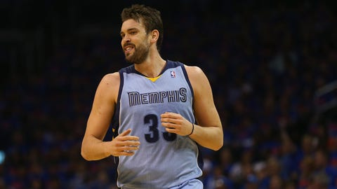 Marc Gasol,, 48th overall, Los Angeles Lakers, 2007