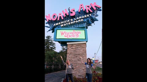 No trip to Wisconsin Dells is complete without a stop by Noah's Ark Waterpark!