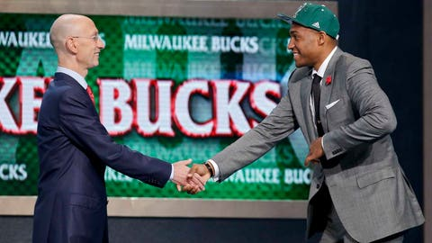 June 26, 2014: Drafted Jabari Parker at No. 2 overall