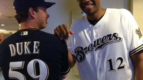 Zach Duke, P, Milwaukee Brewers