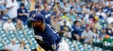 Peralta roughed up in Brewers' loss