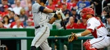 Brewers strike quickly versus Strasburg
