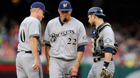 Brewers at Nationals: 7/18/14-7/20/14