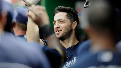 Milwaukee Brewers, 54-45 first place