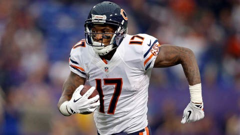 Wide receiver: Alshon Jeffery, Bears